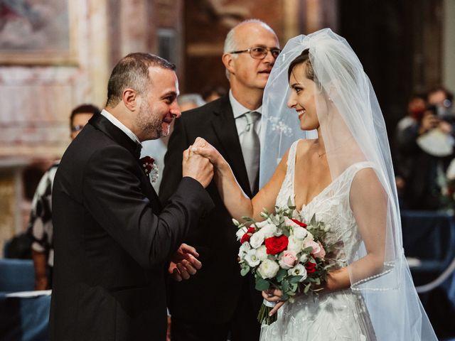 Il matrimonio di Massimo e Silvia a Ceri, Roma 23