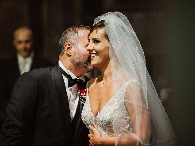Il matrimonio di Massimo e Silvia a Ceri, Roma 24