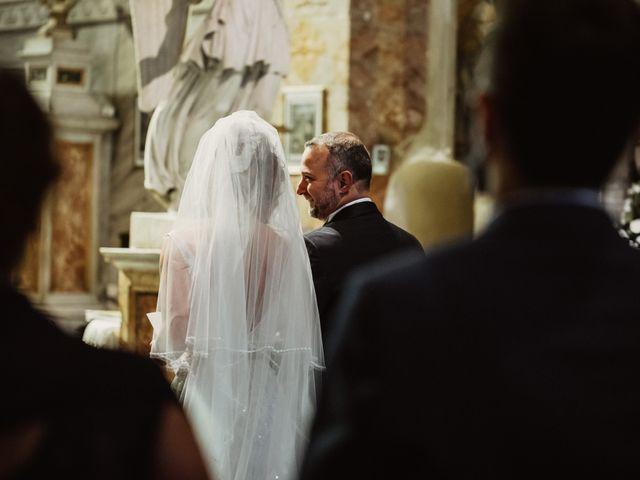 Il matrimonio di Massimo e Silvia a Ceri, Roma 25