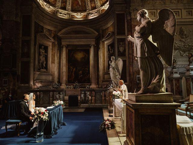Il matrimonio di Massimo e Silvia a Ceri, Roma 30