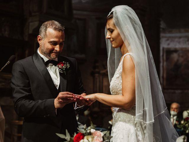 Il matrimonio di Massimo e Silvia a Ceri, Roma 32