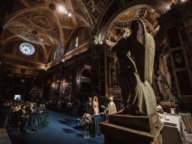 Il matrimonio di Massimo e Silvia a Ceri, Roma 34