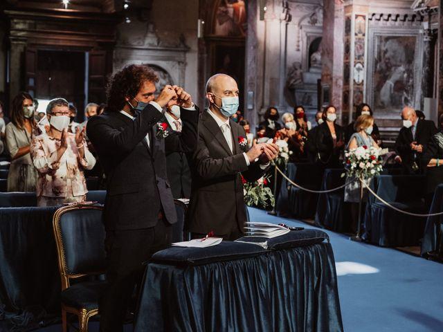 Il matrimonio di Massimo e Silvia a Ceri, Roma 36