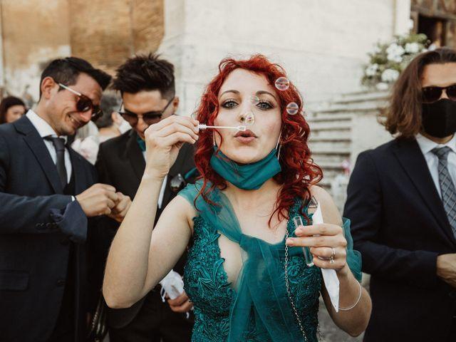 Il matrimonio di Massimo e Silvia a Ceri, Roma 39