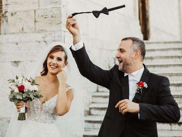 Il matrimonio di Massimo e Silvia a Ceri, Roma 40