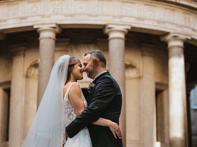 Il matrimonio di Massimo e Silvia a Ceri, Roma 45