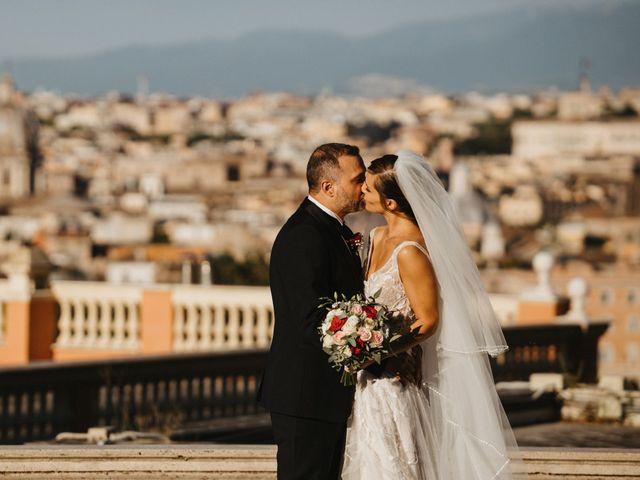 Il matrimonio di Massimo e Silvia a Ceri, Roma 51