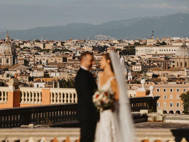 Il matrimonio di Massimo e Silvia a Ceri, Roma 52