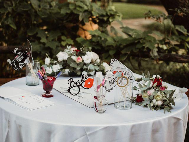 Il matrimonio di Massimo e Silvia a Ceri, Roma 61