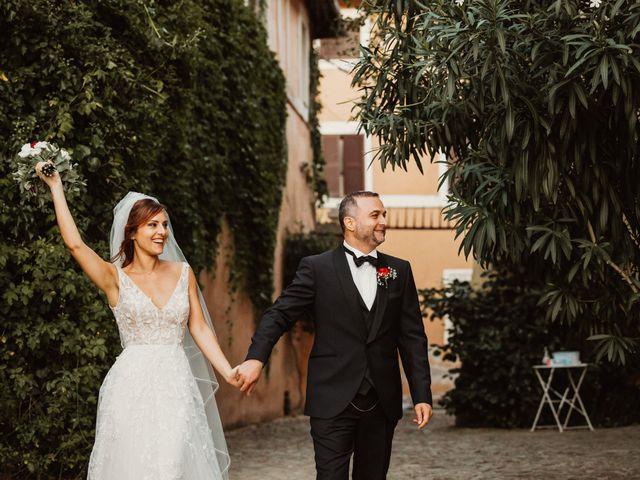 Il matrimonio di Massimo e Silvia a Ceri, Roma 63