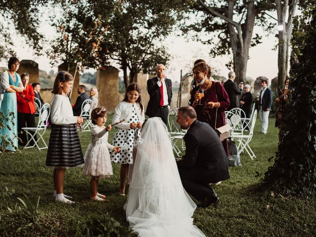 Il matrimonio di Massimo e Silvia a Ceri, Roma 65