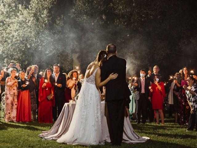 Il matrimonio di Massimo e Silvia a Ceri, Roma 77