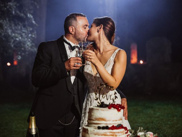 Il matrimonio di Massimo e Silvia a Ceri, Roma 78