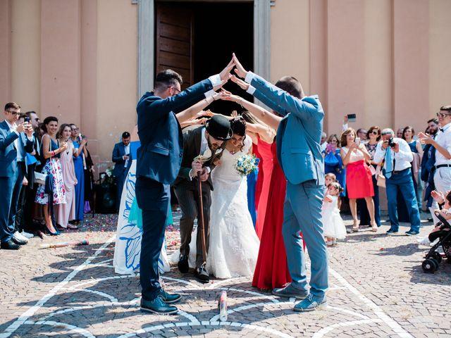 Il matrimonio di Giona e Francesca a Misano di Gera d'Adda, Bergamo 38