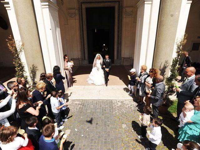 Il matrimonio di simone e marzia a Roma, Roma 35