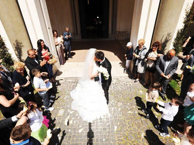 Il matrimonio di simone e marzia a Roma, Roma 38