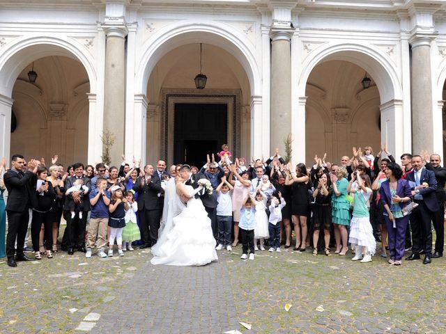 Il matrimonio di simone e marzia a Roma, Roma 40