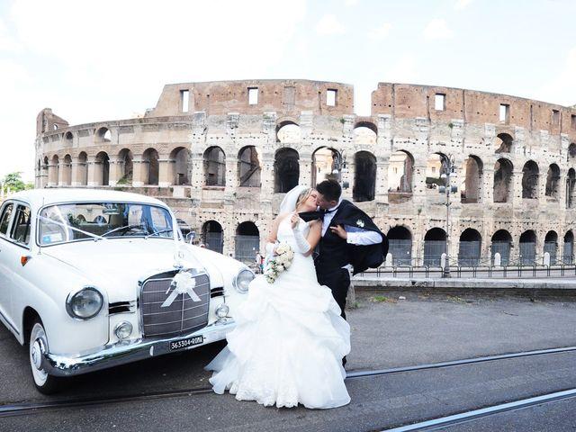 Il matrimonio di simone e marzia a Roma, Roma 43