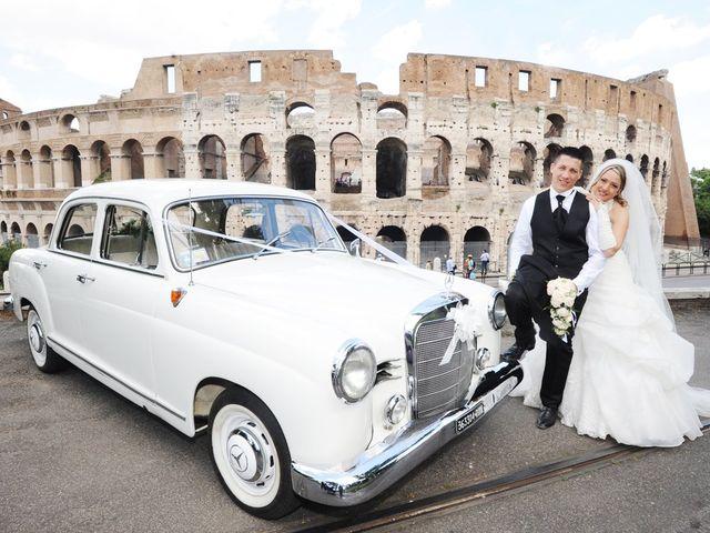 Il matrimonio di simone e marzia a Roma, Roma 45