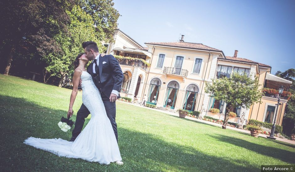 Il matrimonio di Andrea e Valentina a Arcore, Monza e Brianza