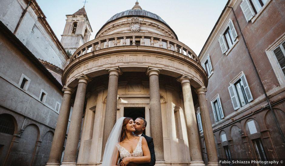 Il matrimonio di Massimo e Silvia a Ceri, Roma