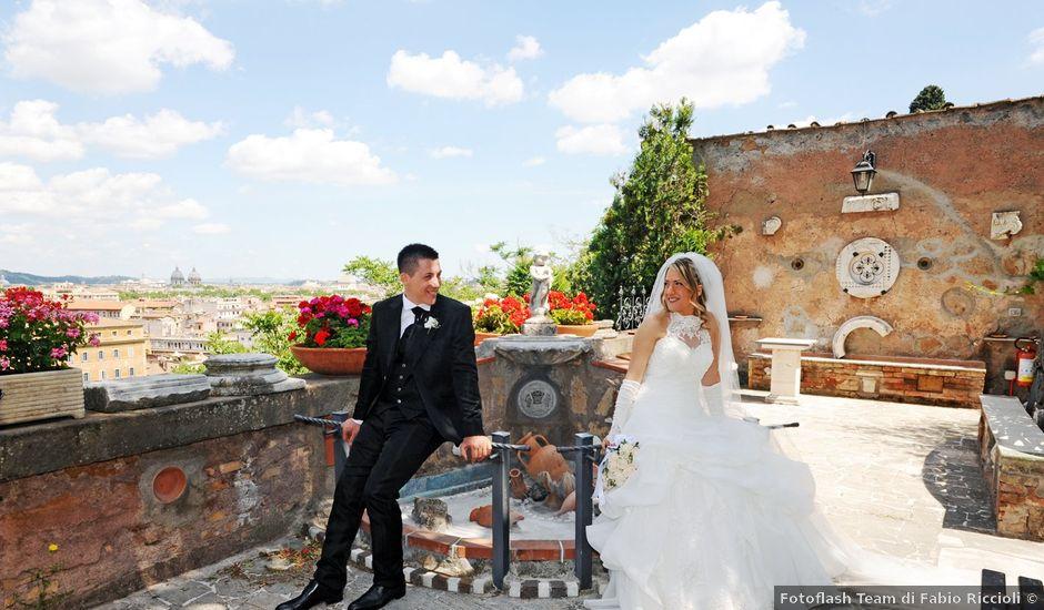 Il matrimonio di simone e marzia a Roma, Roma
