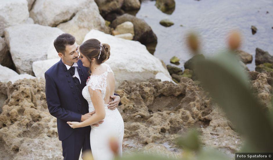 Il matrimonio di Vincenzo e Elisa a Castellammare del Golfo, Trapani