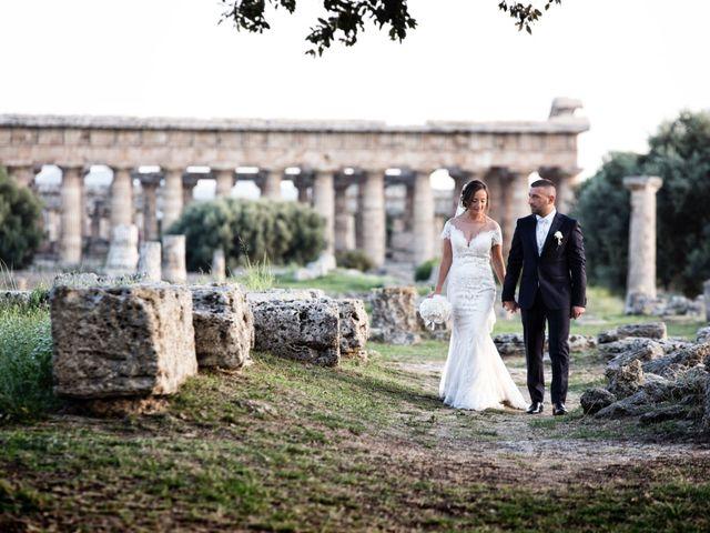 Il matrimonio di Francesco e Elena a Roccadaspide, Salerno 23