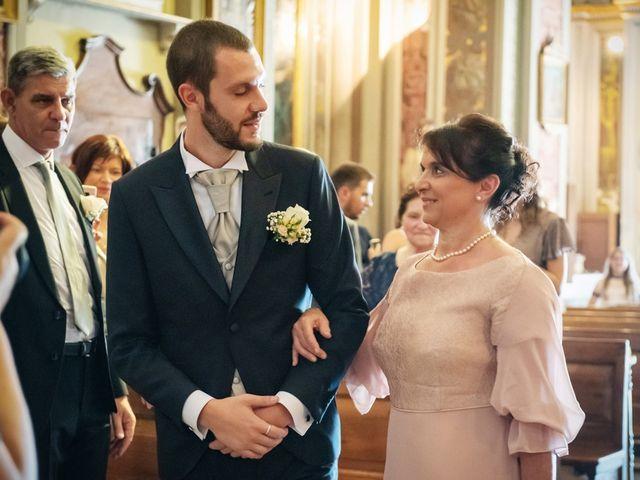 Il matrimonio di Luca e Martina a Castelvetro Piacentino, Piacenza 18