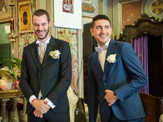 Il matrimonio di Luca e Martina a Castelvetro Piacentino, Piacenza 19