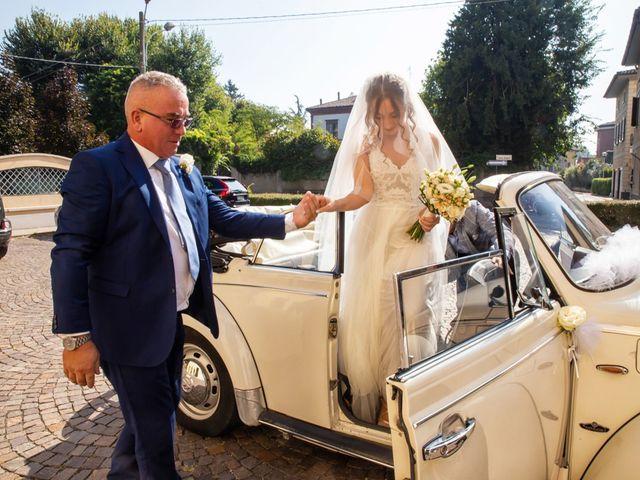 Il matrimonio di Luca e Martina a Castelvetro Piacentino, Piacenza 20
