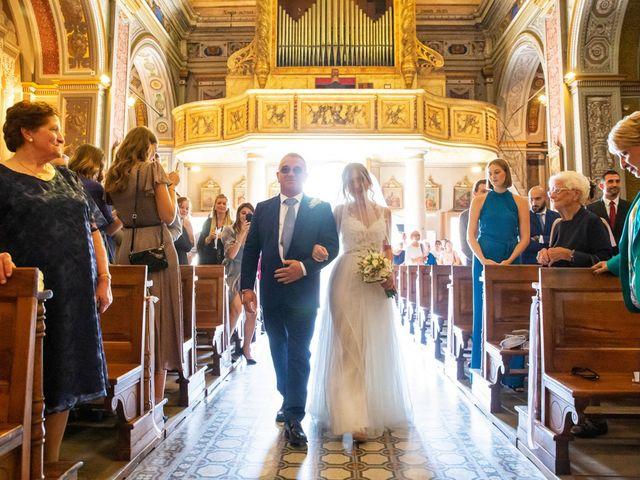 Il matrimonio di Luca e Martina a Castelvetro Piacentino, Piacenza 21