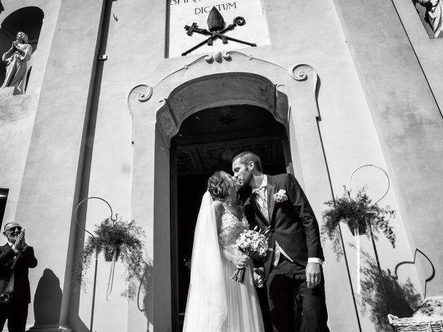 Il matrimonio di Luca e Martina a Castelvetro Piacentino, Piacenza 42