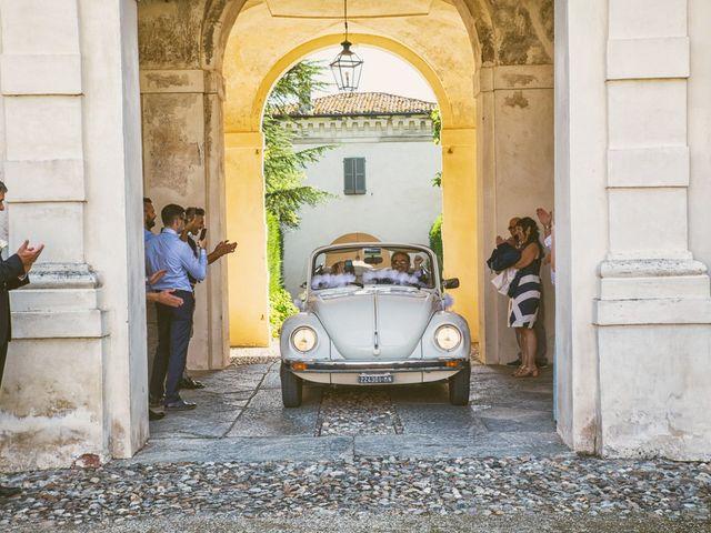 Il matrimonio di Luca e Martina a Castelvetro Piacentino, Piacenza 43