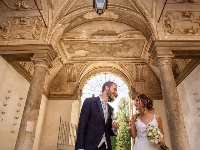 Il matrimonio di Luca e Martina a Castelvetro Piacentino, Piacenza 47
