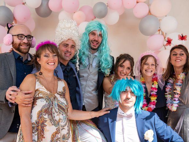 Il matrimonio di Luca e Martina a Castelvetro Piacentino, Piacenza 49