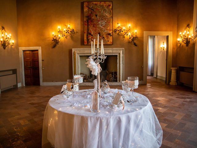 Il matrimonio di Luca e Martina a Castelvetro Piacentino, Piacenza 54