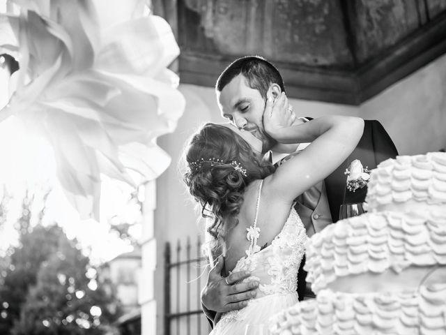 Il matrimonio di Luca e Martina a Castelvetro Piacentino, Piacenza 65
