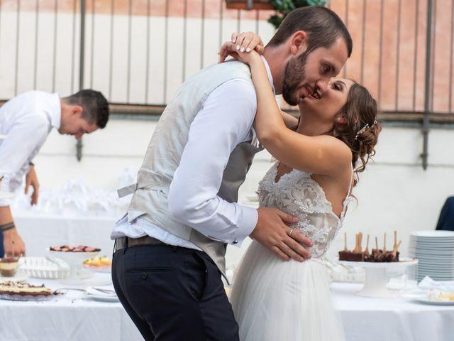 Il matrimonio di Luca e Martina a Castelvetro Piacentino, Piacenza 73