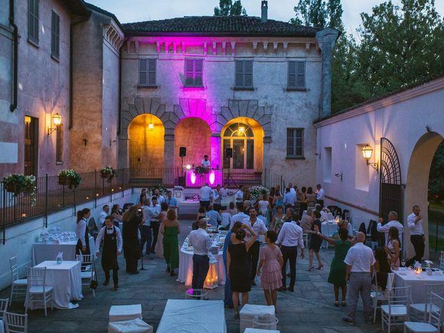 Il matrimonio di Luca e Martina a Castelvetro Piacentino, Piacenza 76