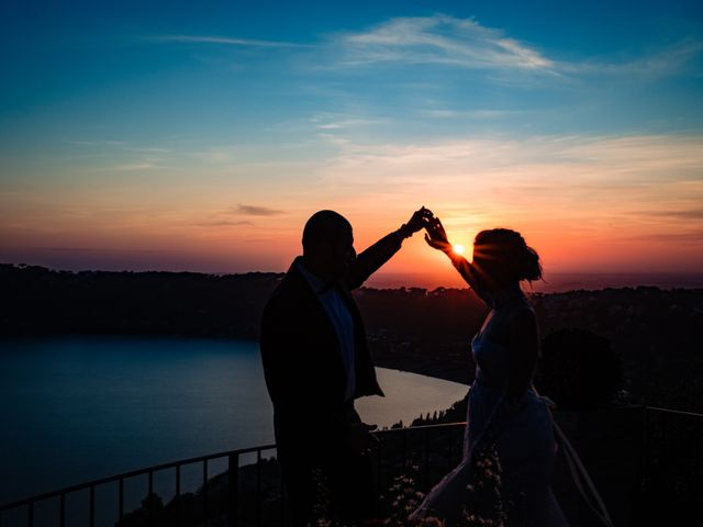 Il matrimonio di Leonardo e Vanessa a Castel Gandolfo, Roma 2