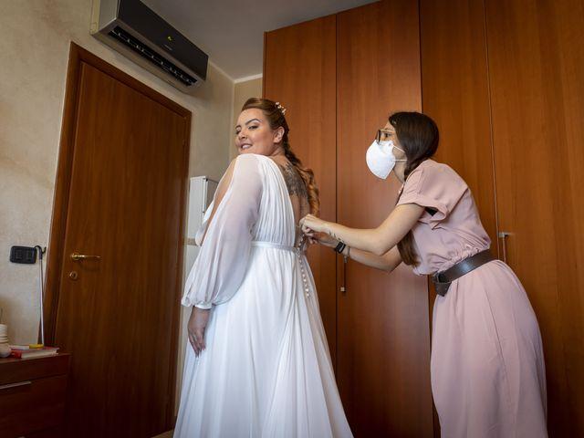 Il matrimonio di Luca e Nicole a Monte Cremasco, Cremona 15