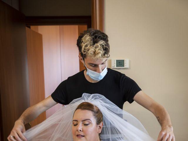 Il matrimonio di Luca e Nicole a Monte Cremasco, Cremona 26