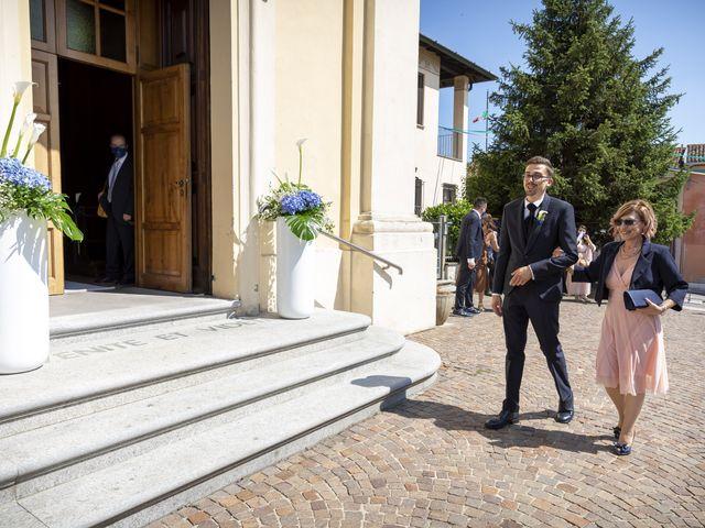 Il matrimonio di Luca e Nicole a Monte Cremasco, Cremona 30
