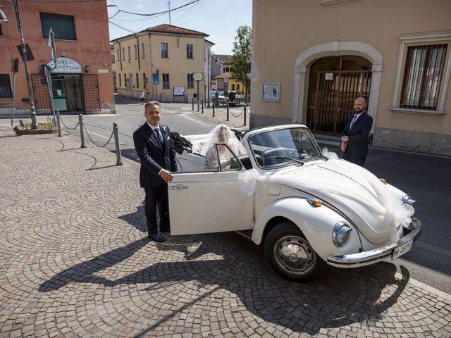 Il matrimonio di Luca e Nicole a Monte Cremasco, Cremona 37