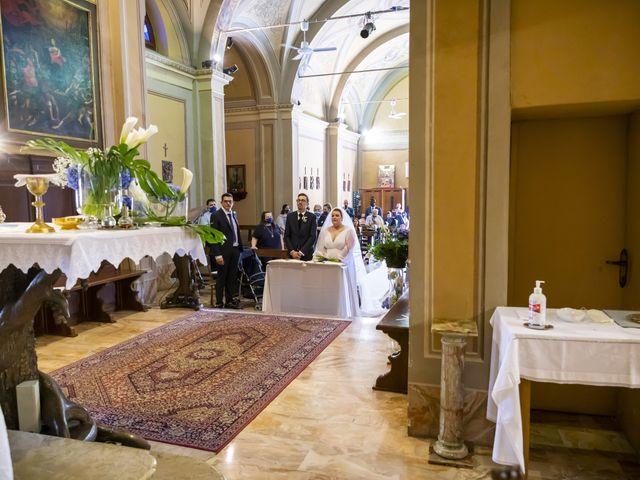 Il matrimonio di Luca e Nicole a Monte Cremasco, Cremona 39