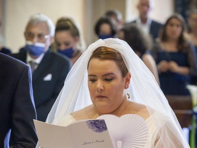 Il matrimonio di Luca e Nicole a Monte Cremasco, Cremona 40