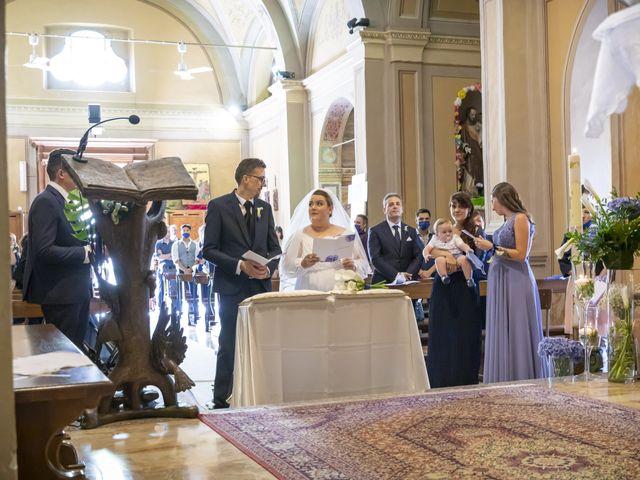Il matrimonio di Luca e Nicole a Monte Cremasco, Cremona 41