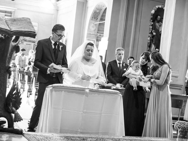 Il matrimonio di Luca e Nicole a Monte Cremasco, Cremona 42
