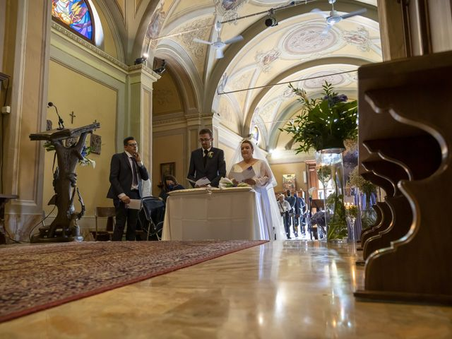 Il matrimonio di Luca e Nicole a Monte Cremasco, Cremona 43